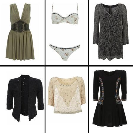 Peças da nova coleção de Kate Moss para a Topshop: boho chique