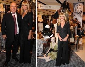 Kate Moss foi ao lançamento da última coleção dela para a Topshop. Vem ver!