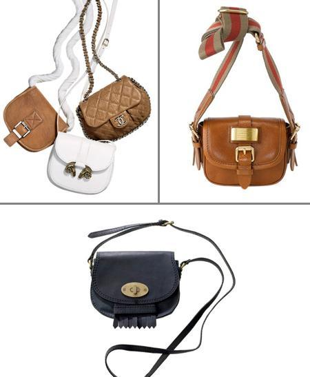 Bags by Michael Kors, Derek Lam and Chanel, Marc by Marc Jacobs and Madewell: small and stylish