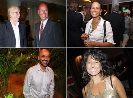 Robert Forrest e Michael Roberts, Andrea Dellal, Claudio Gomes e Bianca Teixeira: a noite promete