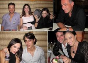 Luciana Gimenez fez aniversário ontem mas prefiriu um jantarzinho só com os mais íntimos…