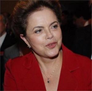 Dilma Rousseff mais comentada do q Lady Gaga no Twitter. Tb, né…