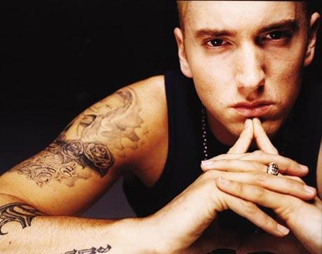 Eminem: primeira vez no Brasil
