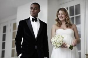 Um clique do casamento de Doutzen Kroes! Ela está linda!