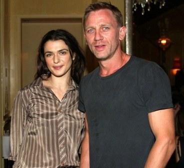 Rachel Weisz and Daniel Craig: love is in the air?