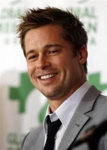 Brad Pitt está mais do que interessado na história dos mineiros chilenos.