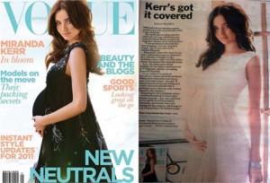 Miranda Kerr não para e está na capa de mais uma revista de moda!