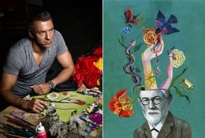 Depois de Vik Muniz, a Globo escolhe outro artista para fazer abertura de uma produção