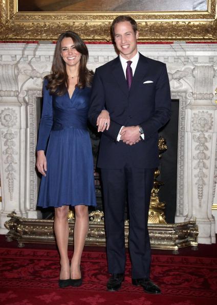 Kate Middleton com William: escolha acertada