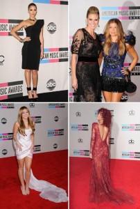 Vejam looks do American Music Awards de ontem!