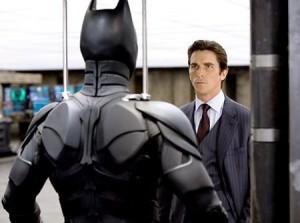 Nada mais de bancar o super-heroi para Christian Bale.