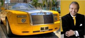 O designer Bijan Pakzad vai desenhar um Rolls-Royce… alguém quer comprar?