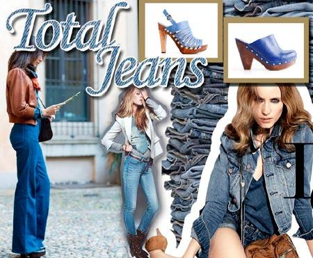 Jeans com jeans: combinação de estilo