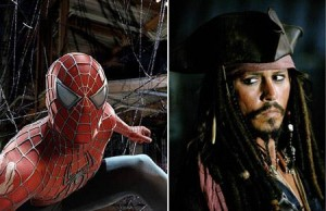 """Alguém aqui não gosta do Jack Sparrow, de """"Piratas do Caribe""""?"""