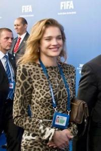 Natalia Vodianova é um belo do amuleto de sorte…