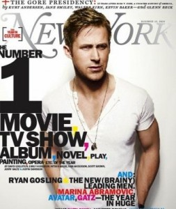 Ryan Gosling mostrou-se corajoso ou inconsequente na New York Magazine?