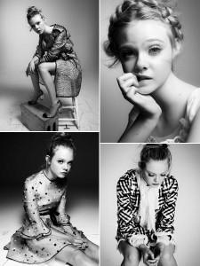 Elle Fanning está linda na Interview de dezembro/janeiro