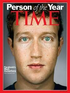 """Mark Zuckerberg é o homem do ano na """"Time"""""""