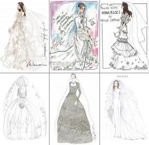 Kate Middleton ganhou croquis dos melhores estilistas sem ao menos pedir…