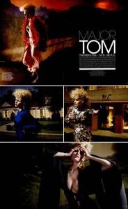 A coleção feminina do Tom Ford ganhou editorial luxuoso na revista W de janeiro…