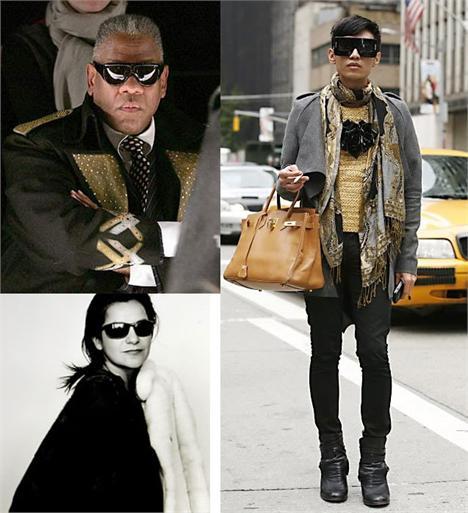 Andre Leon Talley, Byan Boy e Candy Pratts Price: imprensa internacional em alta na temporada de inverno 2011!