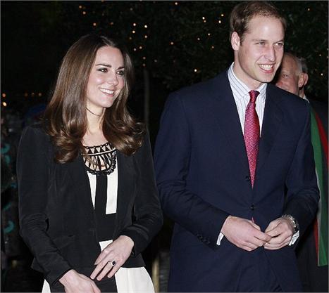 Kate Middleton e o príncipe William: dizendo não aos gifts