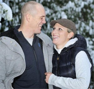 Mais um casamento real à vista na Inglaterra. Zara Phillips, filha da princesa Anne, disse sim!
