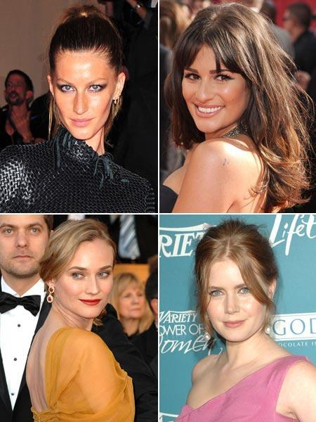 Gisele Bundchen, Lea Michele, Diane Kruger and Amy Adams: made the grade