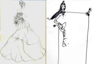 Huis Clos e Neon criaram croquis de como deveria ser o vestido de noiva de Kate Middleton pra gente. Vem ver!