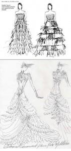 Samuel Cirnansck e @gloriacoelho também criaram vestidos de noiva para Kate Middleton. Já viu?