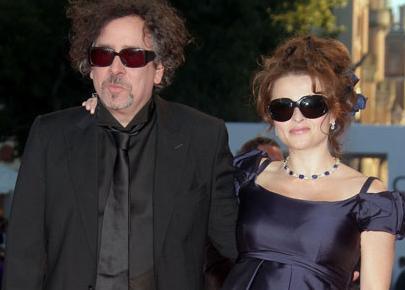 Tim Burton e Helena Bonham Carter: casal moderno