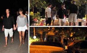 Glamurama tem detalhes extras de como foi o jantar de Matthew McConaughey e Camila Alves, no Quadrado, aqui em Trancoso!