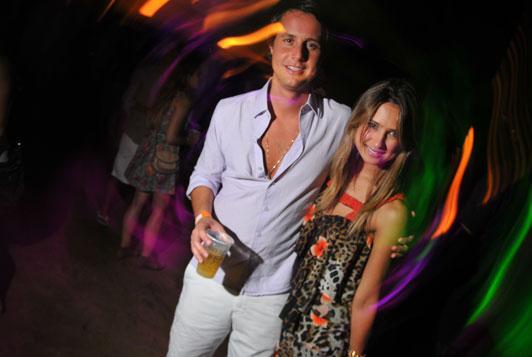 Bruno Rudge e Juliana Carvalho: na última hora