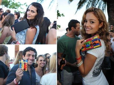 Fernanda Motta, Sophie Charlotte e Marcos Maria: todos com a carteira da MINI