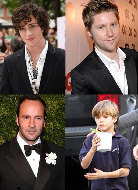 """Aaron Johnson, Christopher Bailey, Tom Ford e Romeo Beckham: democracia na lista dos mais bem-vestidos da """"GQ"""" britânica"""