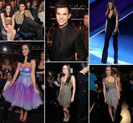 Kristen Stewart and Robert Pattinson, Taylor Lautner, Jennifer Aniston, Katy Perry, Mila Kunis and Leighton Meester: lacked creativity