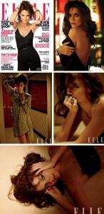 Katie Holmes é a estrela da Elle norte-americana de fevereiro!