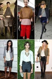 É inverno no hemisfério norte, mas isso não impede que muitas mulheres usem shorts curtíssimos!