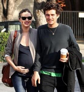 É menino! Miranda Kerr e Orlando Bloom são pais de um menino!
