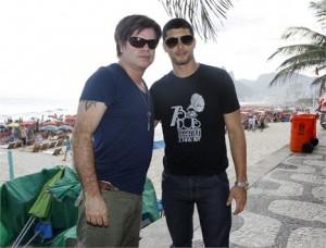 Paul Oakenfold se encontrou com Jesus Luz em Copacabana mais cedo