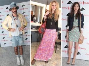 Glamurama encontrou looks dignos de passarela, em alguns backstages do Fashion Rio. Vem ver!