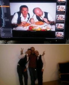 Domenico Dolce e @StefanoGabbana se juntaram a Terry Richardson para um ensaio divertidíssimo
