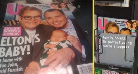 Elton John, David Furnish and the new heir: silly controversy