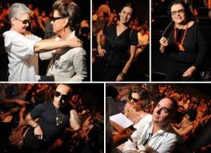 Maria Adelaide Amaral, Marina de La Riva, Reinaldo Lourenço, todo mundo na fila A da Huis Clo agorinha!