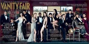 """""""Vanity Fair"""" norte-americana acaba de divulgar a capa da tradicional edição especial pré-Oscar. Veja aqui!"""