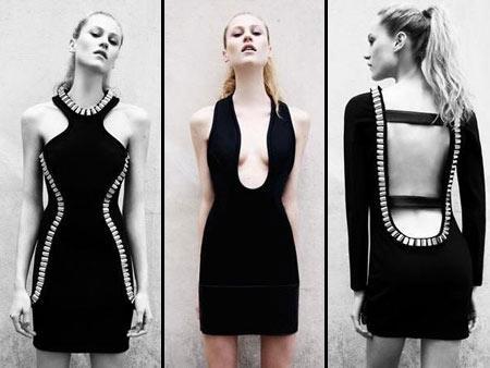 Vestidos de David Koma para a Topshop: modernos e estilosos
