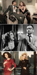 Os estilistas viraram atores na homenagem da Harper's Bazaar a Mike Nichols, diretor de A Primeira Noite de Um Homem. Vem ver!