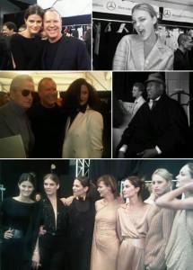 A gente tem imagens – lindas – do backstage do desfile de inverno 2011 do estilista Michael Kors, que comemora 30 anos de marca este ano!