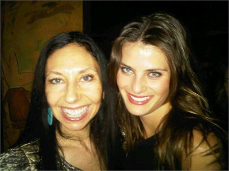 Inez van Lamsweerde e Isabeli Fontana: juntas no jantar que comemorou os 30 anos da marca Michael Kors