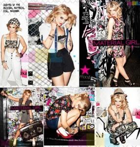 E não é q Kelly Osbourne mandou bem na campanha da Material Girl?